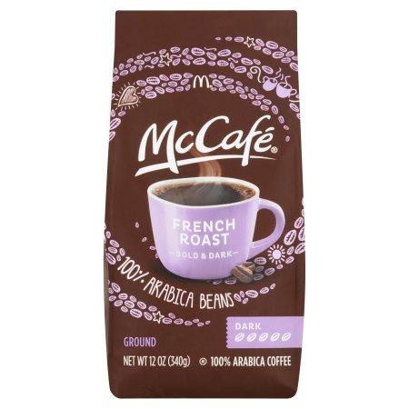 McCafe French Roast Dark Ground Coffee, 12 OZ (340g)