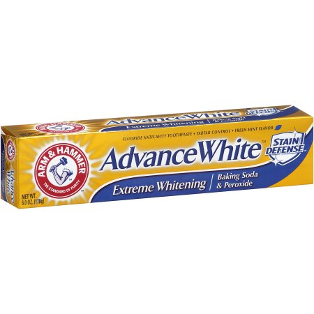 Arm & Hammer Advance White Stain Defense Extreme Whitening Baking soda & Peroxide, 6.0 OZ