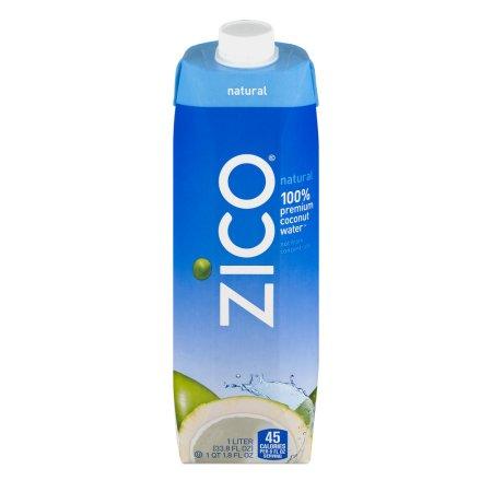 Zico 100% Premium Coconut Water, 33.8 FL OZ