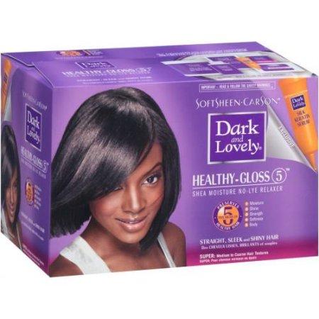 SoftSheen-Carson Dark and Lovely Healthy-Gloss 5 Shea Moisture No-Lye Relaxer - Super