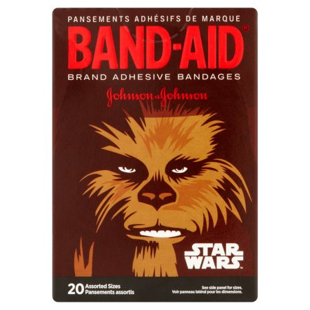 Band-Aid Brand Star Wars Assorted Sizes Adhesive Bandages, 20 count