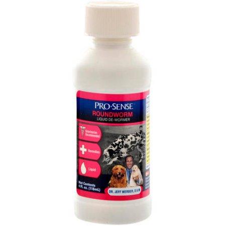 Pro-Pet: Roundworm Liquid De-Wormer, 4 Ct