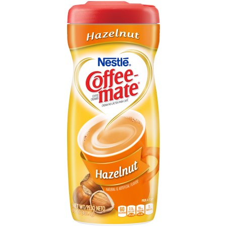 COFFEE-MATE Hazelnut Powder Coffee Creamer 15 oz. Canister