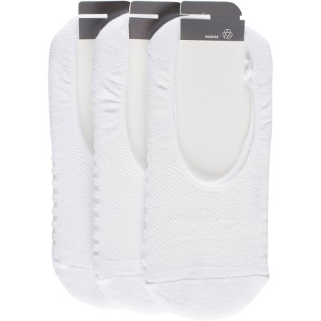 Peds Ladies Sport Cut Cushion Sole Liner With Gel Tab, 3 Pairs