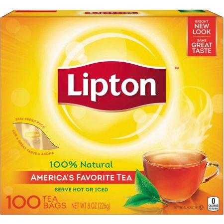 Lipton America's Favorite Tea Black Tea Bags, 100 ct