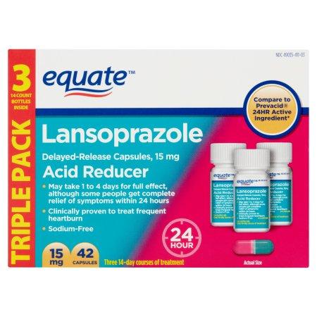 Equate Lansoprazole, 42 count