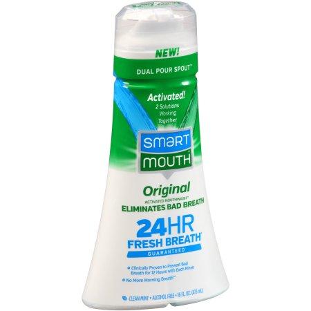 Smart Mouth Original Activated Mouthwash Clean Mint, 16.0 FL OZ