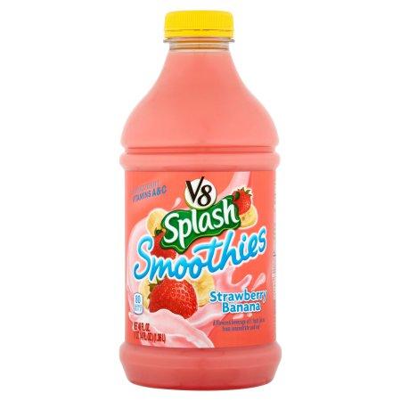 V8 Splash Strawberry Banana Smoothies 46fl.oz