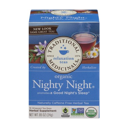 Traditional Medicinals Relaxation Teas Organic Nighty Night Tea Bags - 16 CT