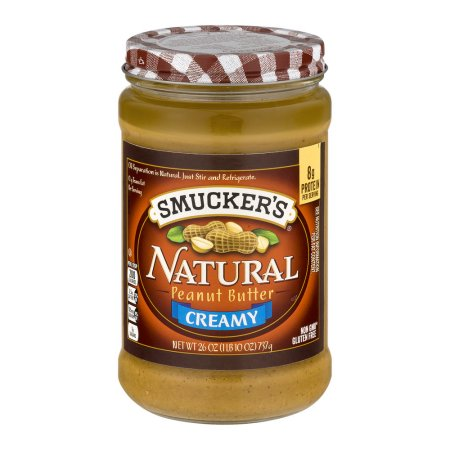 Smucker's Natural Peanut Butter Creamy, 26.0 OZ