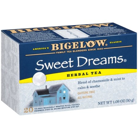 Bigelow® Sweet Dreams® Herbal Tea Blend 20 ct Box