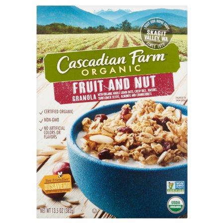 Cascadian Farm Organic Fruit and Nut Granola 13.5oz