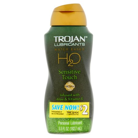 TROJAN™ H20 Sensitive Touch Water-Based Personal Lubricant 5.5 fl. oz. Bottle