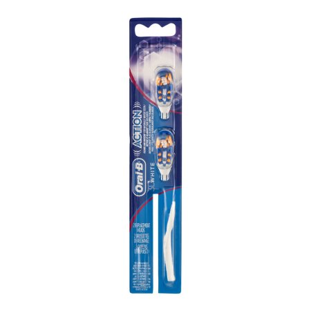 Oral-B 3D White Action Replacement Heads - 2 CT