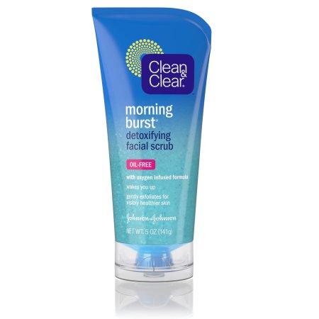 Clean & Clear Morning Burst Detoxifying Facial Scrub, 5 Fl. Oz