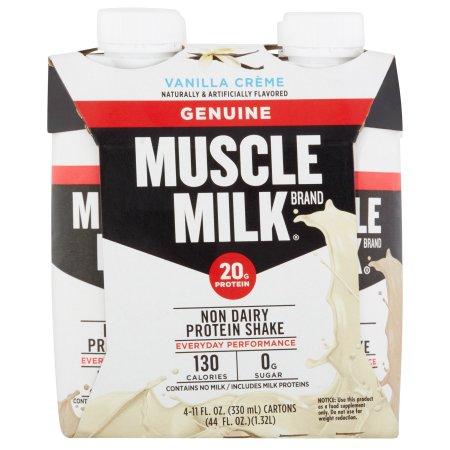 Genuine Muscle Milk Nutritional Vanilla Creme Shake - 4 Ct