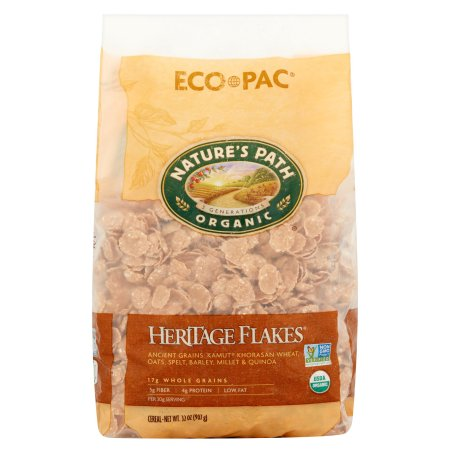 Nature's Path Organic Eco Pac Heritage Flakes Cereal 32oz