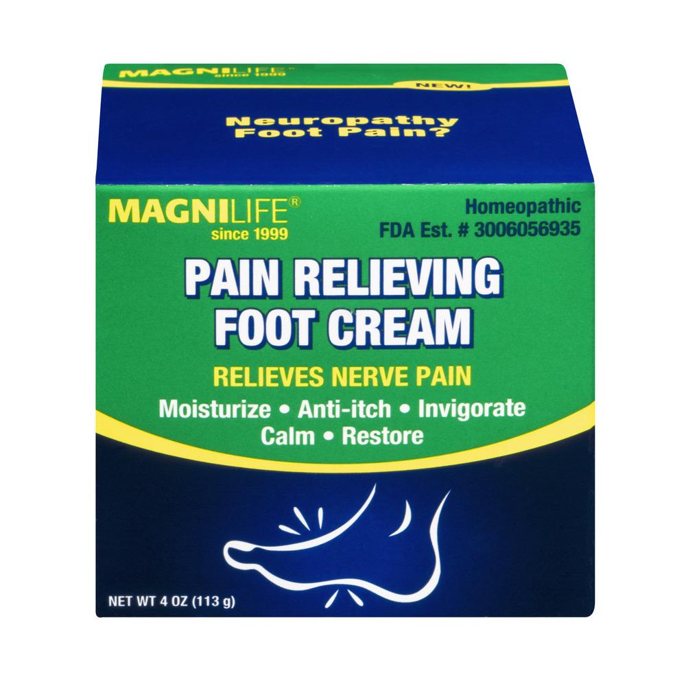 MagniLife Pain Relieving Foot Cream, 4.0 OZ