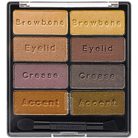 Black Radiance Eye Appeal Eye Shadow Collection, Downtown Brown 8026, 0.3 oz