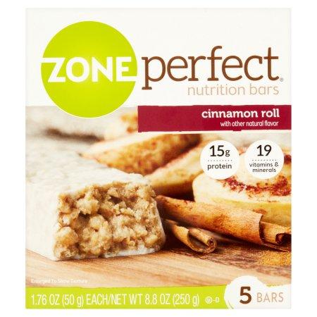 ZonePerfect® Cinnamon Roll Nutrition Bars 5 ct Box
