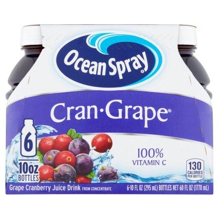 Ocean Spray Cran-Grape Juice - 6 CT