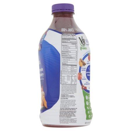 V8 V-Fusion Pomegranate Blueberry Flavored Fruit & Vegetable Juice 46fl.oz