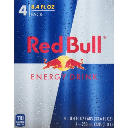Red Bull® Energy Drink 4-8.4 fl. oz. Cans