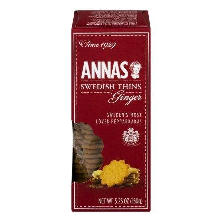 Anna's Ginger Thins Delicate Swedish Cookies, 5.25 OZ