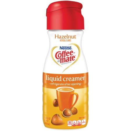 COFFEE-MATE Hazelnut Liquid Coffee Creamer 16 fl. oz. Bottle