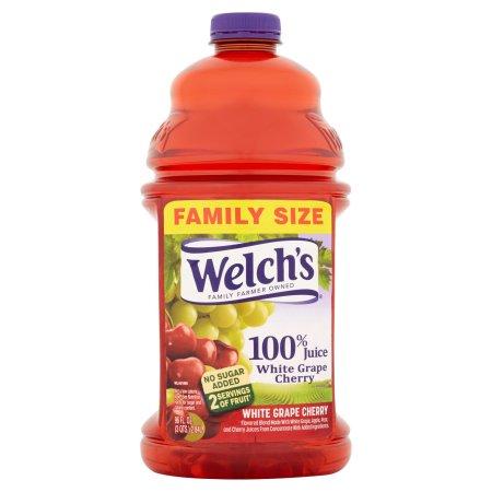100% Welch's White Grape Cherry Juice