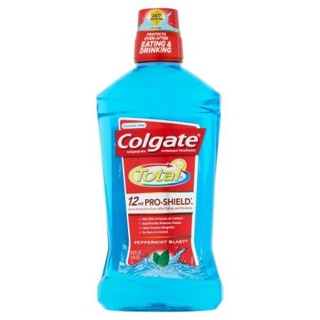 Colgate Total 12HR Pro-Shield Mouthwash Peppermint Blast, 33.8 FL OZ