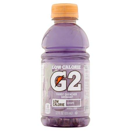 Gatorade G2 Low Calorie Electrolyte Grape Sports Drink, 12 Ct/144 Fl Oz