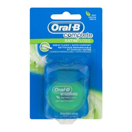 Oral-B Complete Satin Floss Mint, 0.0 OZ