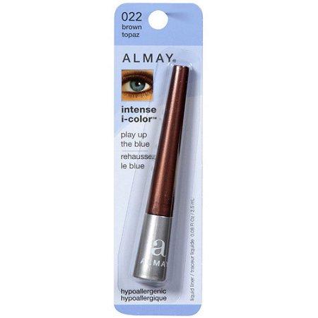 Almay Intense I-Color Liquid Eye Liner, 022 Brown Topaz, 0.08 fl oz