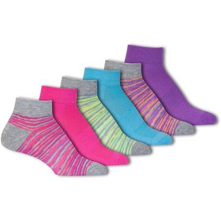 Danskin Now Women's Mid Cushion Low Cut Socks, 6-pack
