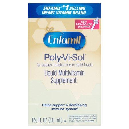 Enfamil Poly-Vi-Sol Liquid Multivitamin Supplement, 1.67 fl oz