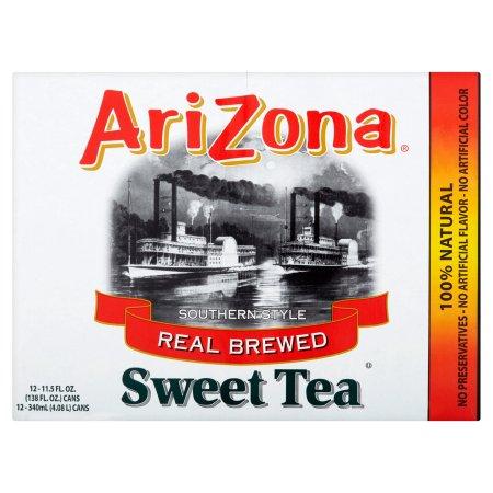 AriZona Real Brewed Southern Style Sweet Tea, 11.5 FL OZ