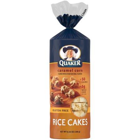 Quaker® Caramel Corn Rice Cakes 6.56 oz. Bag
