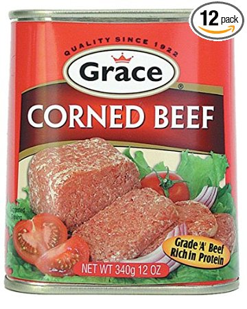 Grace Corned Beef 12 Pack x 12 oz