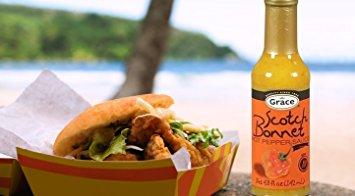 Grace Jamaican Scotch Bonnet Pepper Hot Sauce - 4.8 oz (1 unit)