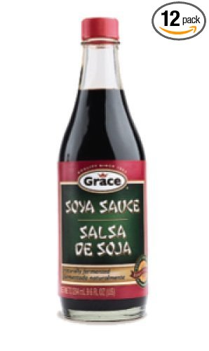 Grace Soya Sauce 12 Pack x 9.8 oz