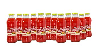 Grace Tropical Rhythms Bottled Juice Fruit Punch 12-pack
