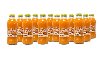 Grace Tropical Rhythms Bottled Juice Guava Carrot 12-pack