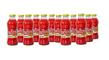 Grace Tropical Rhythms Bottled Juice Reggae Medley 12-pack
