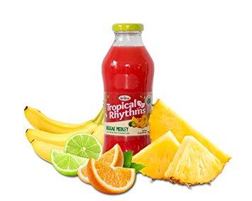 Grace Tropical Rhythms Bottled Juice Reggae Medley 12-pack