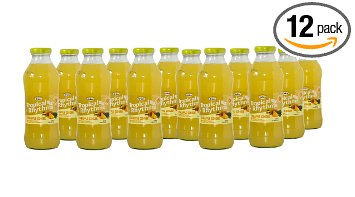 Grace Tropical Rhythms Bottled Juice Pineapple Ginger 12-pack