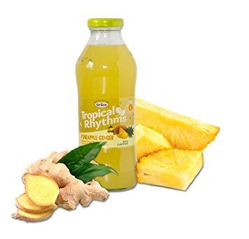 Grace Tropical Rhythms Bottled Juice Pineapple Ginger 12-pack
